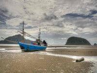 ספינה בצפיה לים