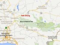 Khao Yai-Pak Chong Map