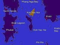 Ko Yao and Phang Nga bay