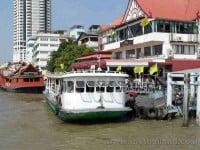 Chao Phraya Express Boats Bangkok