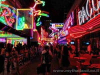 Soi Cowboy Red-Light District in Bangkok