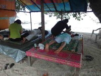 Massage on the beach - Ko Yao Noi