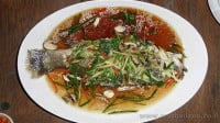 Steamed fish in Soy Sauce
